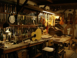 atelier van Hans de Louter