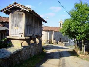 dorpje onderweg