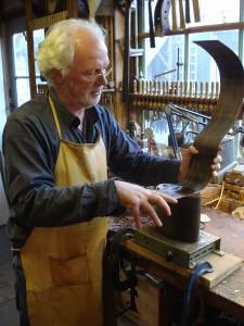 Selmer het terugbuigen van het hout door Hans de Louter