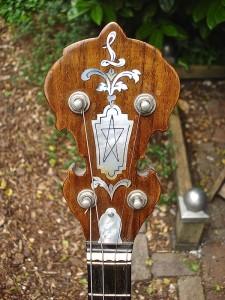 houten banjo kop