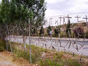 pelgrimskruisjes, 2,5 km lang
