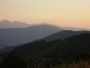 uitzicht bij Manjarín