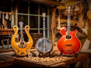 3 zelfgebouwde instrumenten