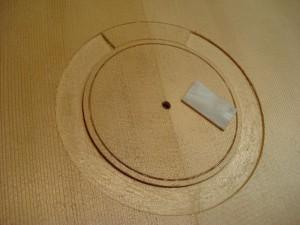 7-snarige gitaar, het maken van de rozet