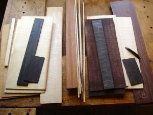 hout voor twee Selmers