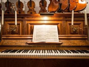 mijn piano in de winkel